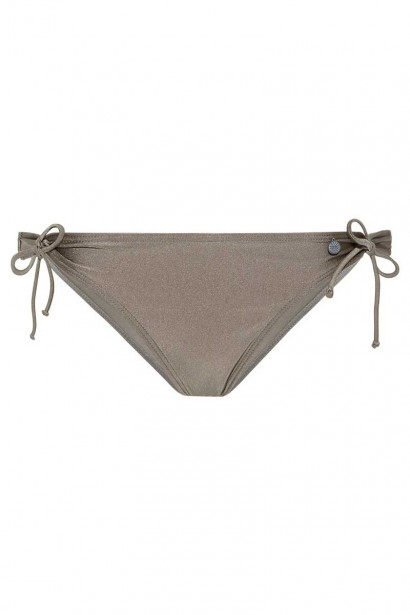 Bikinislip strik Beachlife Planet Taupe