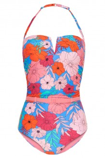 Bandeau badpak Cyell California Dream - cup D