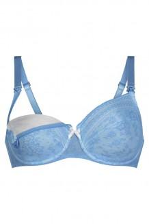 VoedingsBH Anita Fleur blauw 5053