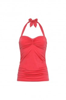 Tankini top Cyell Ocean Coral Red