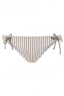 Bikinislip Beachlife Taupe Stripe