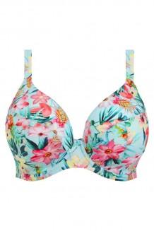 Plunge bikini top Elomi Aloha