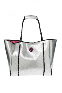 Kleine Shopper All Time Favourites Silver Neoprene