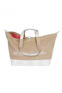Kleine Shopper All Time Favourites Jute Wit