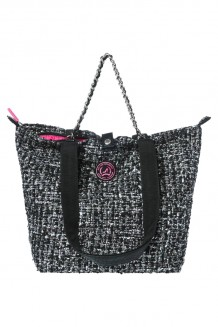 Kleine Shopper All Time Favourites Tweed zwart