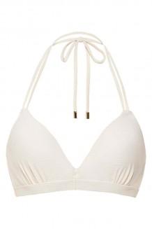 Halter bikini top Beachlife Whisper White