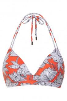 Halter bikini top Beachlife Bright Lotus