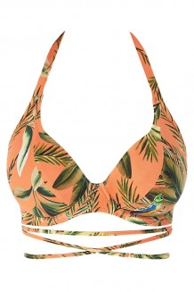 Halter bikini top Freya Birds in Paradise