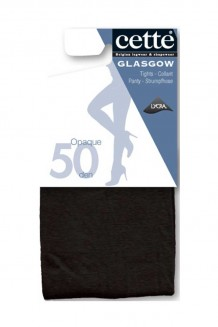 Grote maten Panty Cette Glasgow zwart