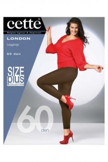 Grote maten legging Cette London zwart