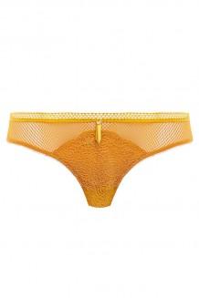 Brazilian string Freya Expression geel