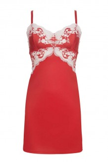 Slipdress Wacoal Lace Affair rood