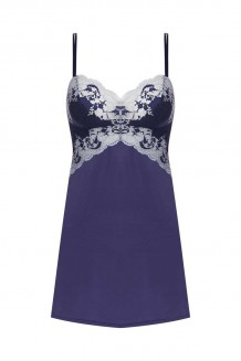 Slipdress Wacoal Lace Affair blauw