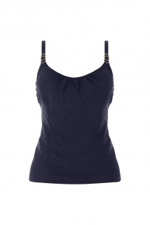 Tankini top Fantasie Long Island blauw