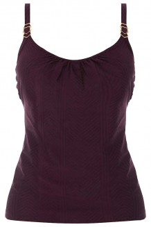 Tankini top Fantasie Long Island rood