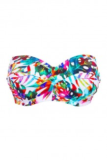 Bandeau bikini top Fantasie Margarita Island