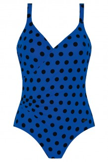 Badpak Naturana 73221 blauw/zwart