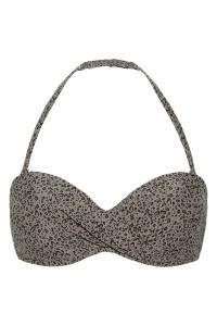 Voorgevormde bandeau bikini top Beachlife Cheetah