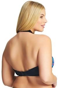Elomi Abstract plunge bikinitop