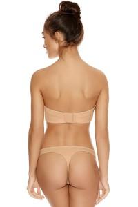 Freya Deco voorgevormde strapless BH huid