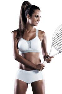Anita DynamiX star sport BH beugelloos wit