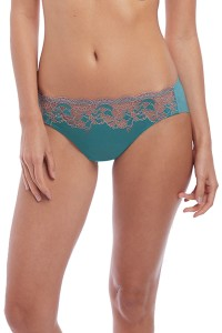 Slip Wacoal Lace Affair aquablauw