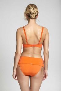 Voorgevormde bikini top Panache Marina oranje
