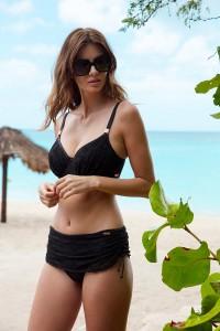 Hele cup bikini top Fantasie Marseille zwart