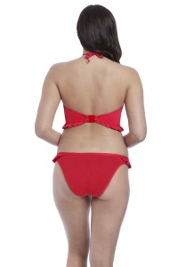 High neck bikinitop Freya Nouveau rood