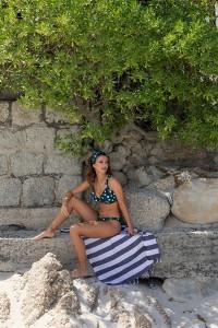 Ruffle bikinitop Hot Spots Beachlife x Nina Warink