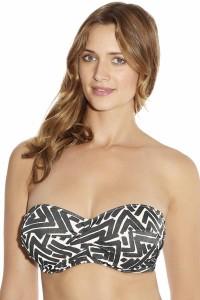Fantasie San Marino voorgevormde bandeau bikinitop
